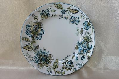222 Fifth Winter Floral Blue 14 Serving Plate Platter New 14 99