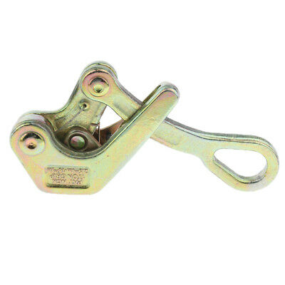Max. Load 1 tons Cable Wire Rope Grip Insulated Wire Grip Clamp Tensioner