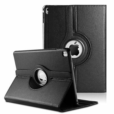 """Apple 2018 iPad Pro 12.9"""" 3rd Gen PU Leather Case Cover w/ 360 Rotating Stand"""