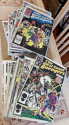 West Coast Avengers HUGE NM COLLECTION #1 2 3 4 5 6 7 8 9 10 11-74 94 101 An 1-5