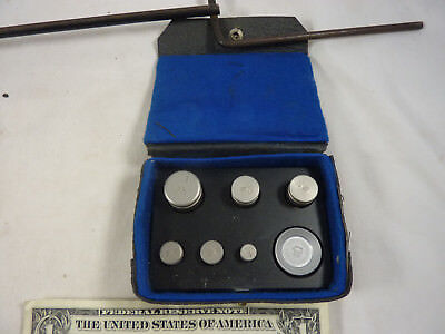 Scale Weights in Box  .005 to .1 Pound Complete Matched Set