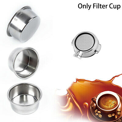 Non Pressurized Filter Basket 2 CUP 51mm For Espresso Coffee Machine Fitting
