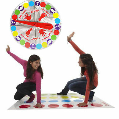 2019 Funny Twister The Classic Family Kids Party Body Game With 2 More Moves UK