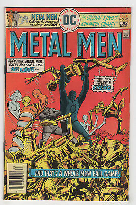 Metal Men #46 (Jun-Jul 1976, DC) Gerry Conway Walter Simonson k