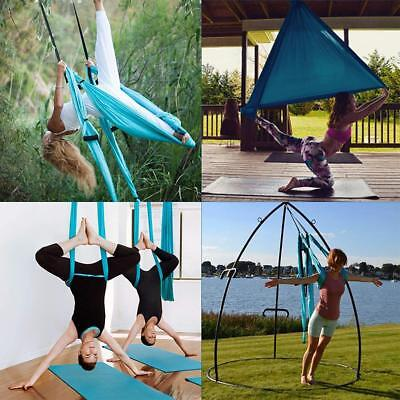 CO-Z Aerial Yoga Swing Sling Strong Yoga Hammock Kit Trapeze Inversion Exercise