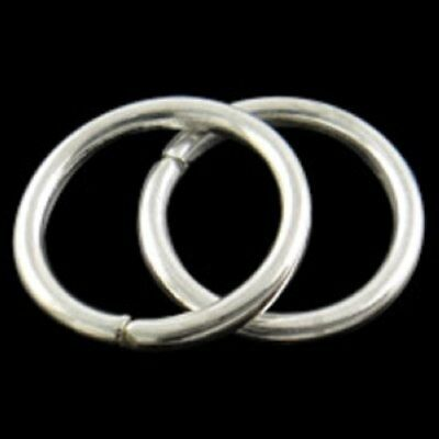 10pcs 20mm 16mm Extra Large Open Jump Rings Split Jewelry Key Chain Making Hoop