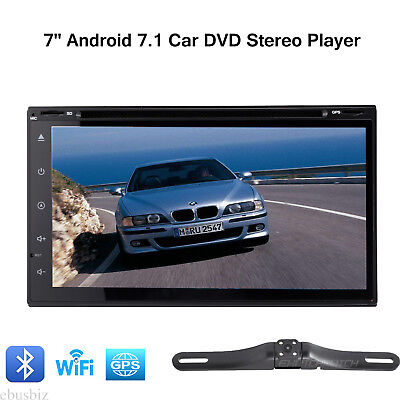 Android 7.1 Car DVD Stereo Player Touchscren Radio GPS Wifi Bluetooth Wifii Dash