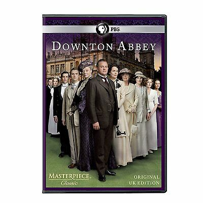 Downton Abbey Season 1 One Dan Stevens Maggie Smith New Sealed 3-Disc-Dvd-Set