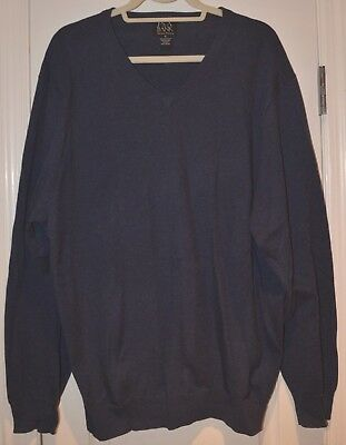 Xl Msrp $99 Nwt-jos A Bank Signature Collection 100% Pima Cotton Sweater-brown Clothing, Shoes & Accessories