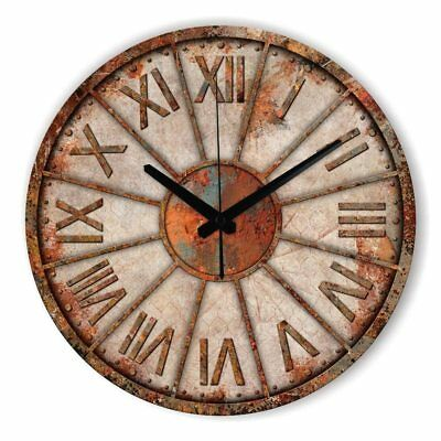Vintage large decorative Abstract wall clock