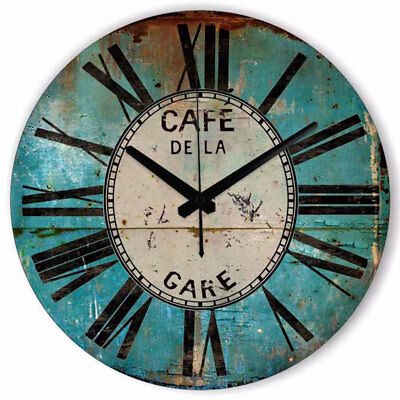 Large Vintage Silent Wall clock