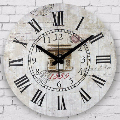 Large Decorative Quiet Sweep Wall Clock