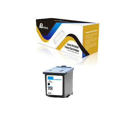ABvolts Compatible 1PK CC635A Black Ink Cartridge for HP 701 Fax 640 2140