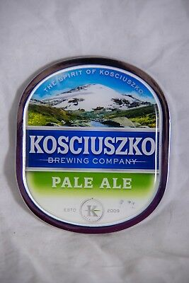 Kosciuszko Brewing Company Pale Ale Beer Tap Badge