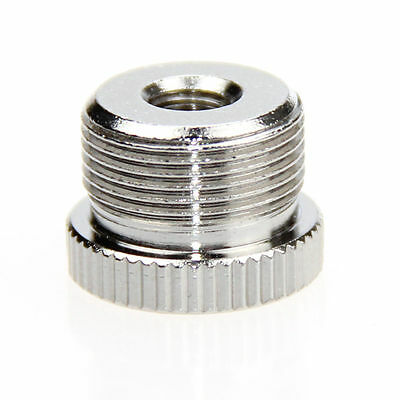 """US CAMVATE 5/8"""" Male to 1/4""""-20 Female Threaded Screw Adapter Fr DSLR Microphone"""