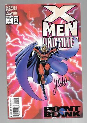 X-MEN UNLIMITED 2 SIGNED BY JIMMY PALMIOTTI MAGNETO Brotherhood of Evil Mutants