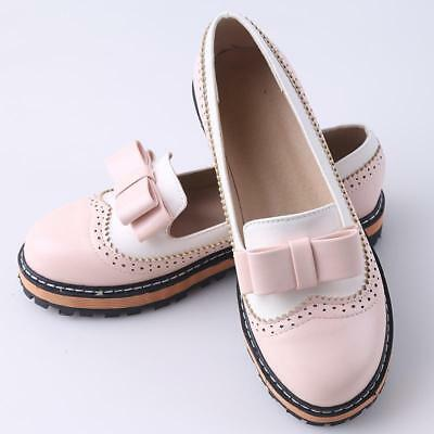 Cute Womens And Girl Casual Ballet Boat Shoes Comfort Flat Loafers JA