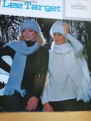 666b66e41cbd2 101  VINTAGE Lister Knitting Patterns Hats   Scarves Tahiti with mohair