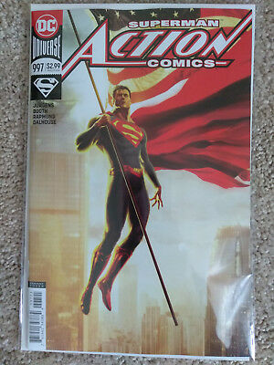 ACTION COMICS  # 997 998 999 Variant Covers by Kaare Andrews - NM+
