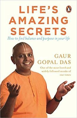 LIFE'S AMAZING SECRETS by GAUR GOPAL DAS (ENGLISH) - BOOK