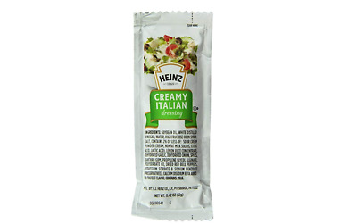 Heinz Dressing Creamy Italian Single Serve, 1 Ounce (100 Pack)