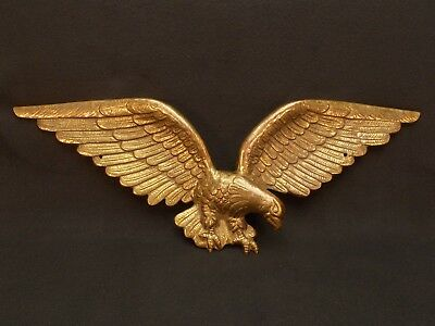 Solid Metal Wall Mount Eagle Made in Harleysville, PA by The Artcaster