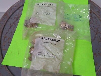 LOT (3) Allen Bradley Z-34038 Contact Kit Size 1, 1 Pole Factory package