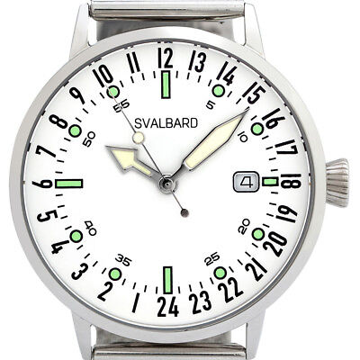 Svalbard Arctic 24 hour watch with Swiss movement. Limited Edition, 500 pcs.