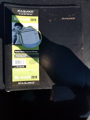 At-A-Glance Refillable Multi-Year Monthly Planner 9 x 11 White 2018-2020 7023605
