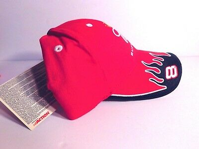a14d094c347 NEW BUDWEISER Racing Cap - Dale Earnhardt Jr  8 - - Red Hat NASCAR  Embroidered