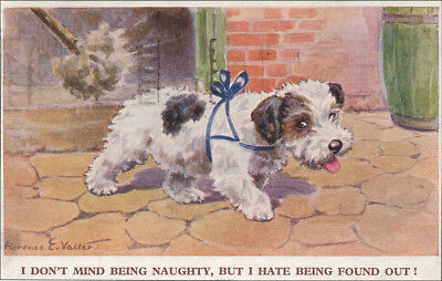 Sealyham Terrier Dog by Florence Valter 8  LARGE New Blank Note Cards NAUGHTY!