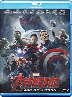 Movie-Avengers - Age Of Ultron Blu-Ray NUOVO