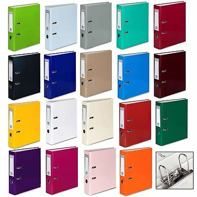 A4 Large 75mm Lever Arch Files Folder Stationery Metal Document Storage 1/3/5/10