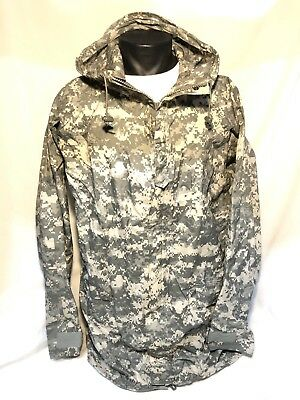 Orc Us Military Improved Rain Suit Parka Rain Wet Weather Acu Ucp Camo Large Nos