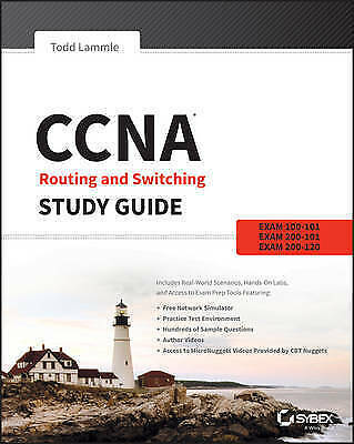 CCNA Routing and Switching Study Guide by Todd Lammle Paperback Book (English)