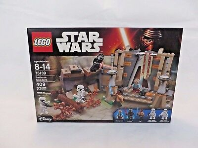 NEW NIB LEGO Disney Star Wars 75139 Battle On Takodana NISB Factory Sealed