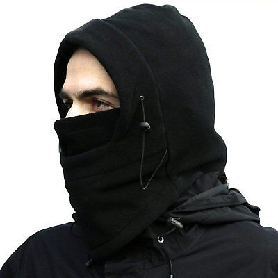 Cold Weather Windproof Thermal Fleece Neck Warm Balaclava Ski Snow Face  Mask Hat 6d5fe917d8b