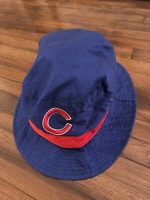fe8046d0f16 VINTAGE CHICAGO CUBS BUDWEISER BUCKET HAT RETRO THROWBACK MLB OLD 90s ERA  RARE