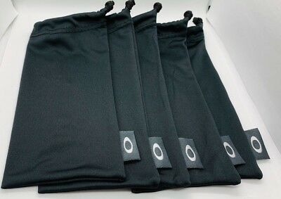 Set of 5! New & Authentic Oakley Microfiber Bags - Cloth/Cleaning/Storage
