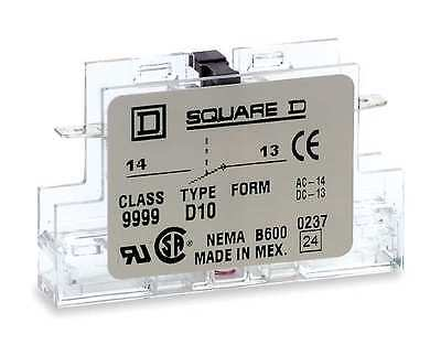 Schneider Electric 9999D01 Auxiliary Contact 8910,8911, & 8965 DPA Series B