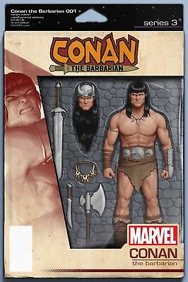 Conan The Barbarian 1 2019 J T Christopher Action Figure Variant Nm