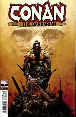 Conan The Barbarian 1 2019 1:25 Gerardo Zaffino Incentive Variant Nm
