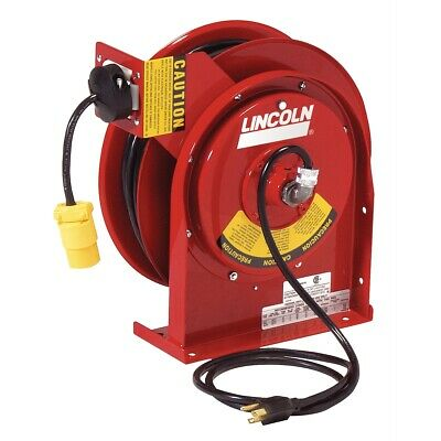 Heavy Duty Extension Cord Reel with 13amp Receptacle LIN91030 Brand New!