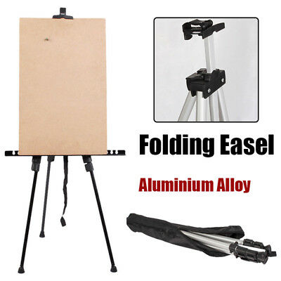 Adjustable Folding Art Artist Drawers Painting Easel Tripod Display Stand w/ Bag