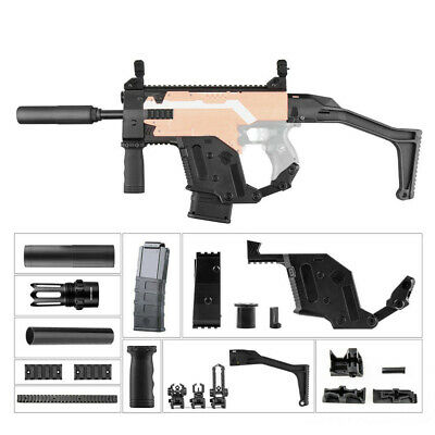 Worker Mod DIY Imitation Kits kriss Vector Combo 11 Items B for Nerf Stryfe Toy