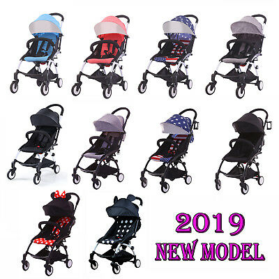 2019 Compact Lightweight Baby Yoyo Stroller Pram Easy Folding Travel Carry-on
