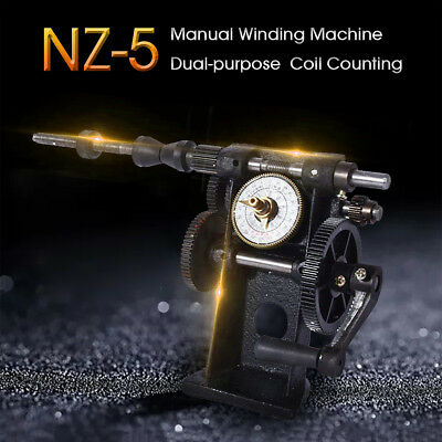 NZ-5 Manual Winding Machine Modified dual-purpose Coil Counting Machine Winder
