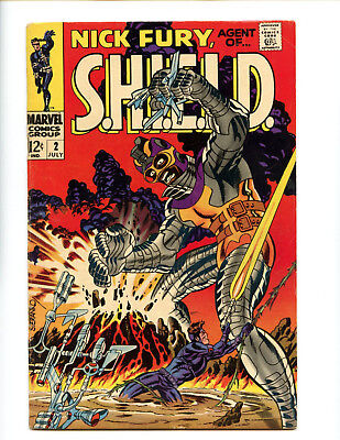 Nick Fury Agent of SHIELD 2 Steranko all the way  Really nice VG