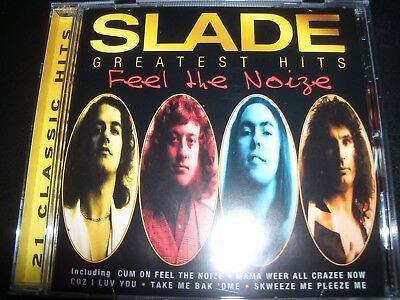 Slade Feel The Noize Greatest Hits Very Best Of  CD – New