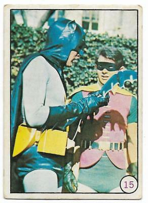 1967 Scanlens Batman BAT LAFFS  # 15 ****